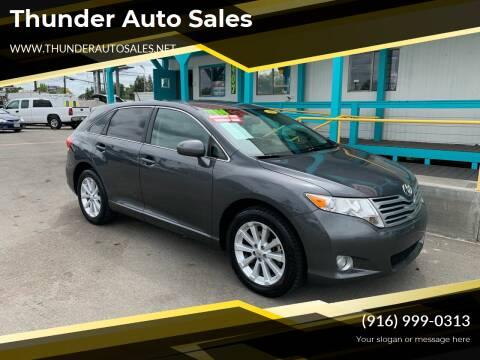 2010 Toyota Venza for sale at Thunder Auto Sales in Sacramento CA
