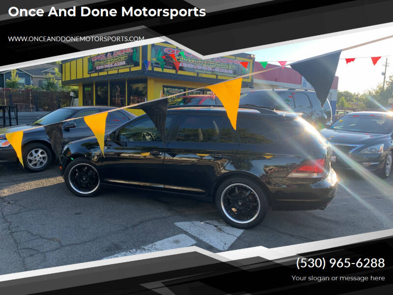 2011 Volkswagen Jetta for sale at Once and Done Motorsports in Chico CA
