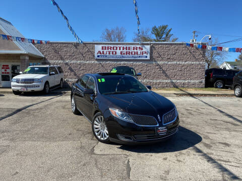 2013 Lincoln MKS for sale at Brothers Auto Group in Youngstown OH