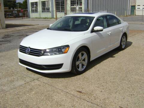 2013 Volkswagen Passat for sale at Memphis Auto Sales in Memphis TN