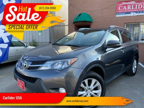 2013 Toyota RAV4 for sale at Carlider USA in Everett MA