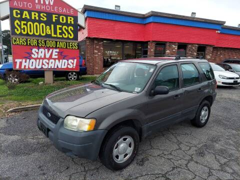 2004 Ford Escape for sale at HW Auto Wholesale in Norfolk VA