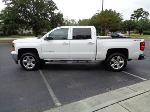 2015 Chevrolet Silverado 1500 for sale at BALKCUM AUTO INC in Wilmington NC