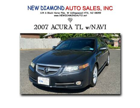2007 Acura TL for sale at New Diamond Auto Sales, INC in West Collingswood NJ