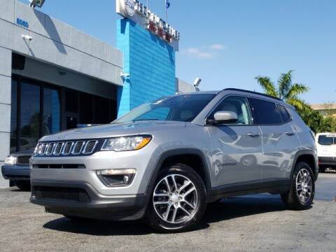 2019 Jeep Compass for sale at Tech Auto Sales in Hialeah FL