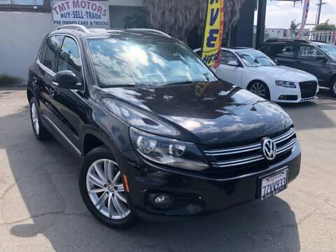 2013 Volkswagen Tiguan for sale at TMT Motors in San Diego CA