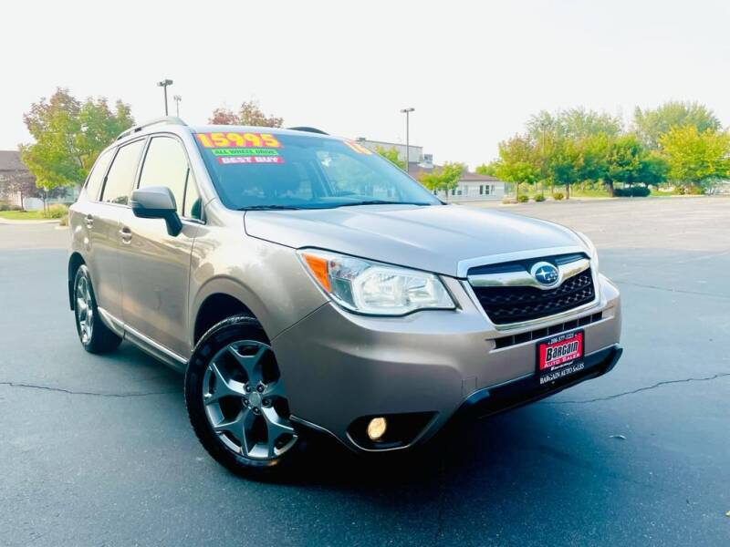 2016 Subaru Forester for sale at Bargain Auto Sales LLC in Garden City ID