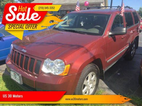 2008 Jeep Grand Cherokee for sale at US 30 Motors in Merrillville IN