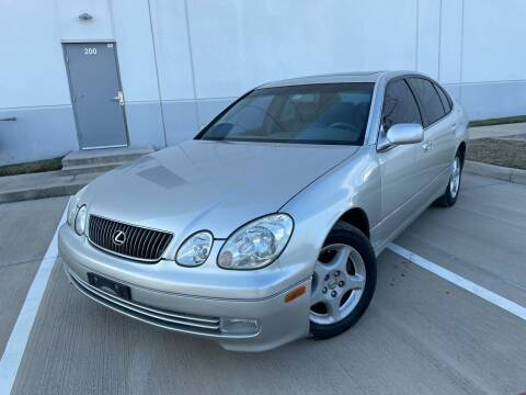 2000 Lexus GS 300 for sale at TWIN CITY MOTORS in Houston TX