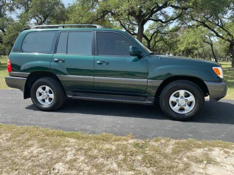 1998 Toyota Land Cruiser for sale at Austin Elite Motors in Austin TX