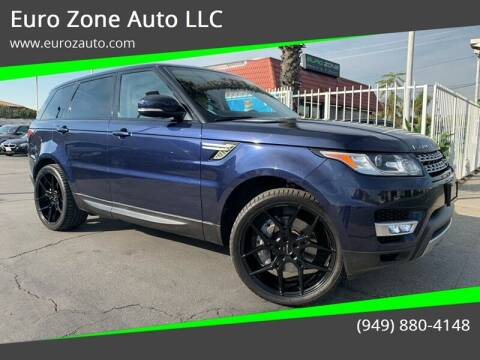 2014 Land Rover Range Rover Sport for sale at Euro Zone Auto in Stanton CA