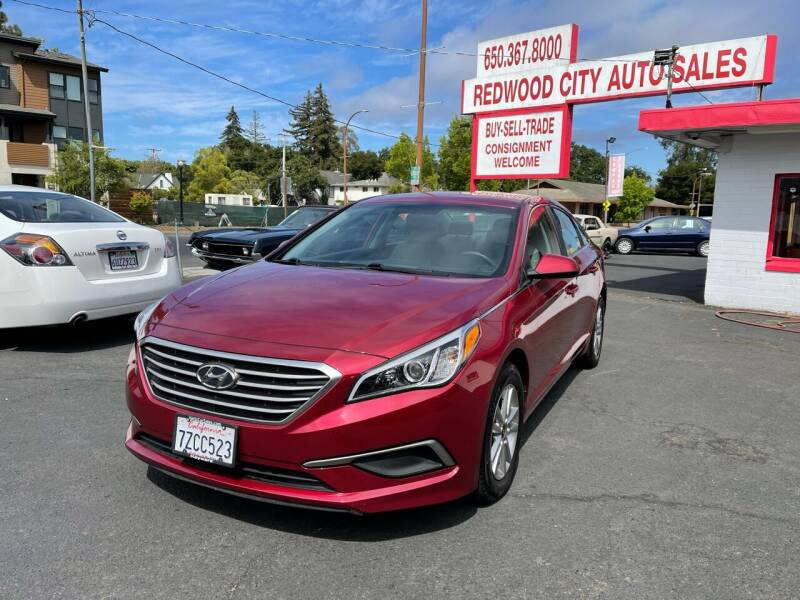 2016 Hyundai Sonata for sale at Redwood City Auto Sales in Redwood City CA