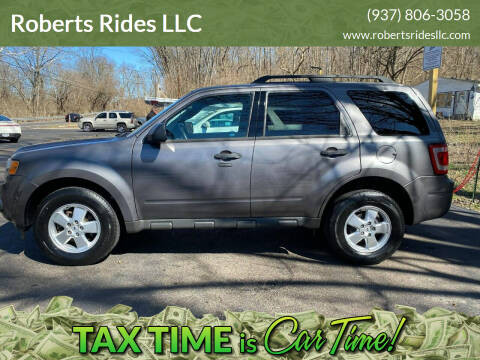 2012 Ford Escape for sale at Roberts Rides LLC in Franklin OH