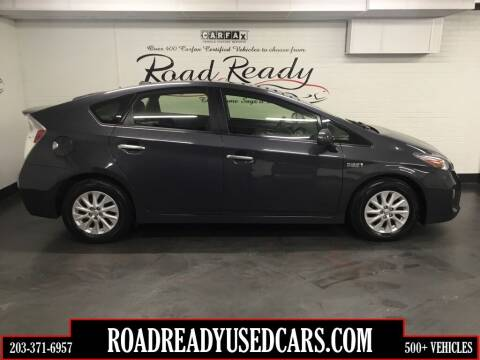 2012 Toyota Prius Plug-in Hybrid for sale at Road Ready Used Cars in Ansonia CT