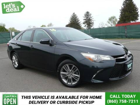 2016 Toyota Camry for sale at Shamrock Motors in East Windsor CT