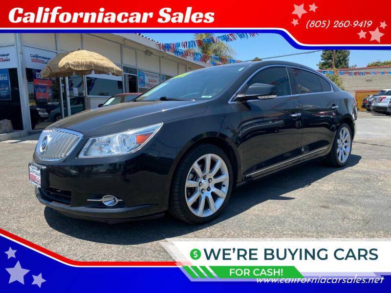 2011 Buick LaCrosse for sale at Californiacar Sales in Santa Maria CA