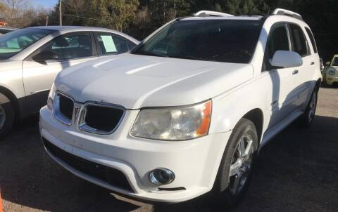 2008 Pontiac Torrent for sale at CARS R US in Caro MI