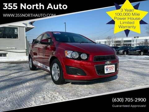 2013 Chevrolet Sonic for sale at 355 North Auto in Lombard IL