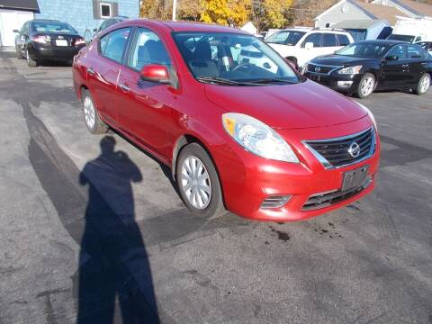 2012 Nissan Versa for sale at MATTESON MOTORS in Raynham MA