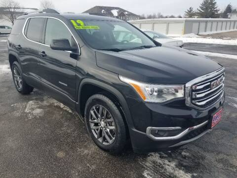 2019 GMC Acadia for sale at Cooley Auto Sales in North Liberty IA