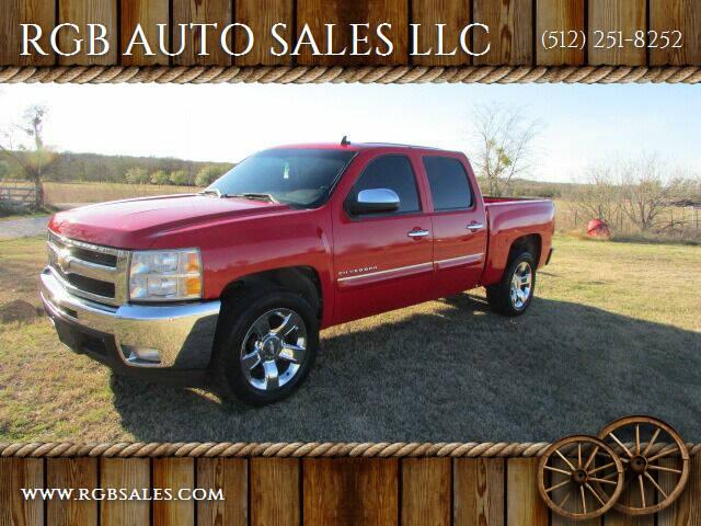 2012 Chevrolet Silverado 1500 for sale at RGB AUTO SALES LLC in Manor TX