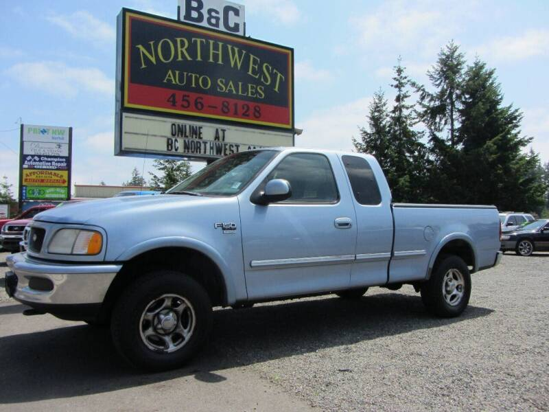 1998 Ford F-150 for sale at B & C Northwest Auto Sales in Olympia WA