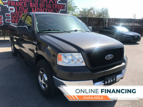 2005 Ford F-150 for sale at Rock Star Auto Sales in Las Vegas NV