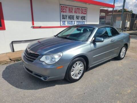 2008 Chrysler Sebring for sale at Best Way Auto Sales II in Houston TX