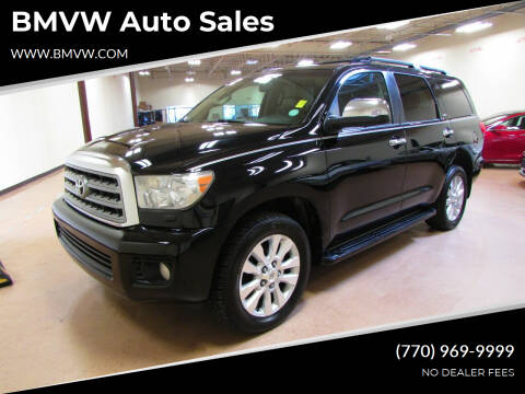 2008 Toyota Sequoia for sale at BMVW Auto Sales in Union City GA