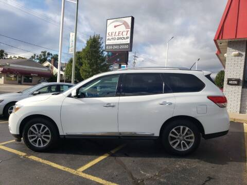 2014 Nissan Pathfinder for sale at Select Auto Group in Wyoming MI