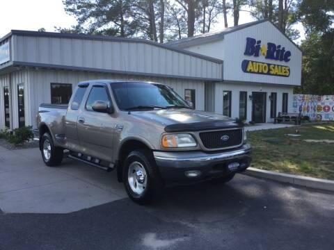 2001 Ford F-150 for sale at Bi Rite Auto Sales in Seaford DE