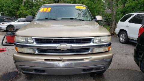 2006 Chevrolet Tahoe for sale at Anthony's Auto Sales of Texas, LLC in La Porte TX