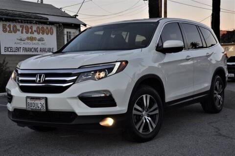 2017 Honda Pilot for sale at AMC Auto Sales, Inc. in Fremont CA