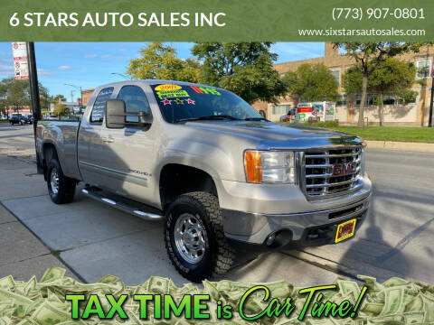 2007 GMC Sierra 2500HD for sale at 6 STARS AUTO SALES INC in Chicago IL