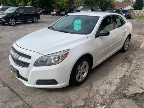 2013 Chevrolet Malibu for sale at PAPERLAND MOTORS - Fresh Inventory in Green Bay WI