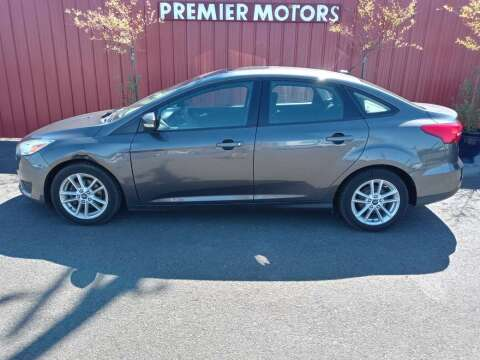 2015 Ford Focus for sale at PREMIERMOTORS  INC. in Milton Freewater OR