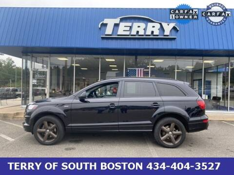 2015 Audi Q7 for sale at Terry of South Boston in South Boston VA