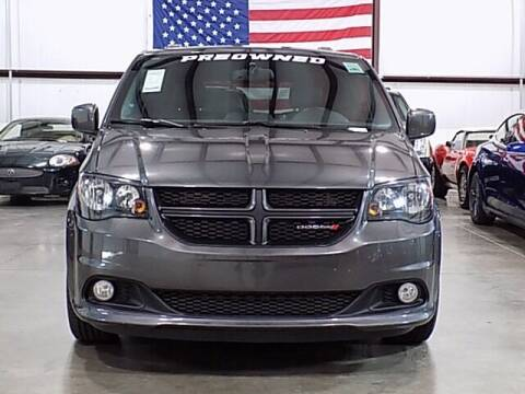 2018 Dodge Grand Caravan for sale at Texas Motor Sport in Houston TX