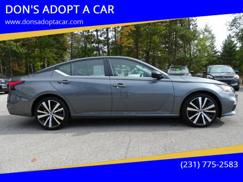 2020 Nissan Altima for sale at DON'S ADOPT A CAR in Cadillac MI