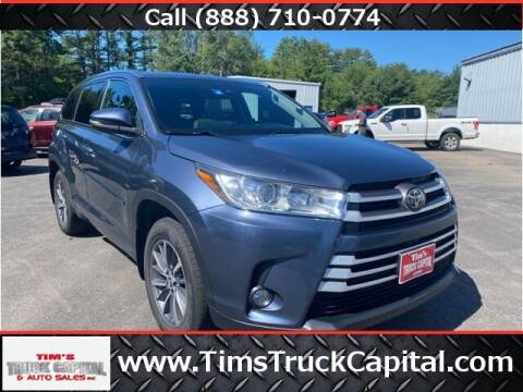 2018 Toyota Highlander for sale at TTC AUTO OUTLET/TIM'S TRUCK CAPITAL & AUTO SALES INC ANNEX in Epsom NH