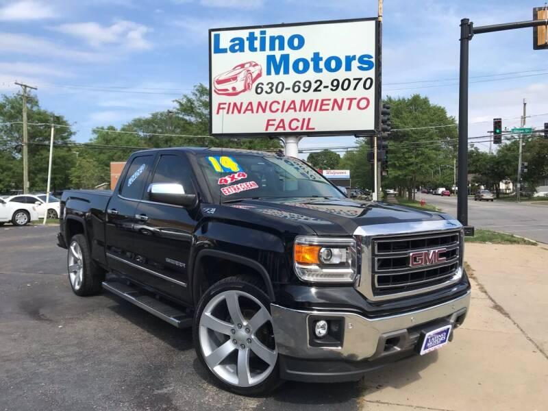 2014 GMC Sierra 1500 for sale at Latino Motors in Aurora IL