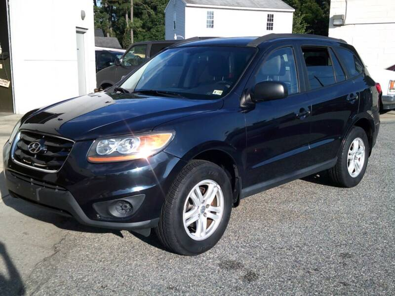 2010 Hyundai Santa Fe for sale at Wamsley's Auto Sales in Colonial Heights VA