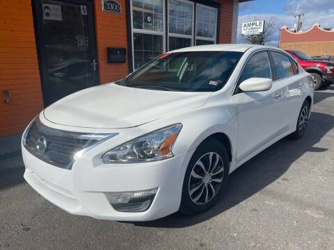 2015 Nissan Altima for sale at Copa Mundo Auto in Richmond VA
