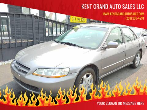 2000 Honda Accord for sale at KENT GRAND AUTO SALES LLC in Kent WA