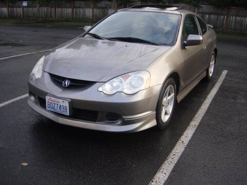 2003 Acura RSX for sale at Western Auto Brokers in Lynnwood WA