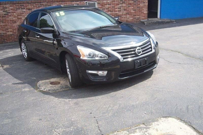 2015 Nissan Altima for sale at BAR Auto Sales in Brockton MA