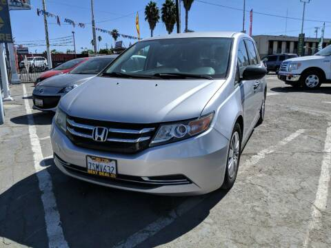 2014 Honda Odyssey for sale at Best Deal Auto Sales in Stockton CA