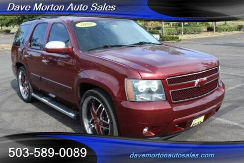 2008 Chevrolet Tahoe for sale at Dave Morton Auto Sales in Salem OR