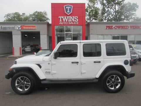 2018 Jeep Wrangler Unlimited for sale at Twins Auto Sales Inc in Detroit MI