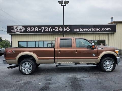 2012 Ford F-350 Super Duty for sale at AutoWorld of Lenoir in Lenoir NC